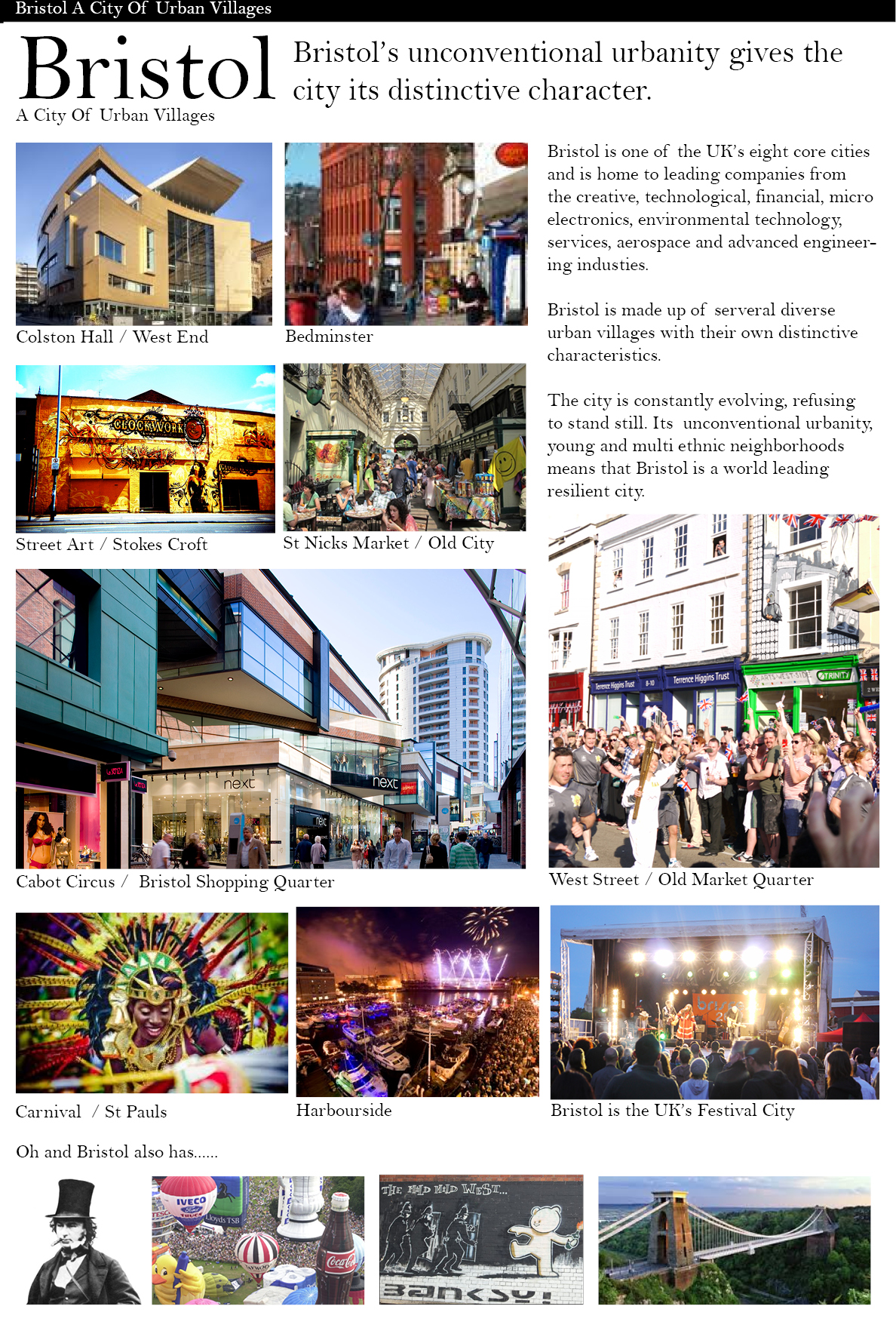 Old Market Quarter Strategic Plan Vision and progress2