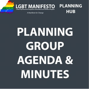 LGBT MAN VISIONING PLANNING GROUP AGENDA AND MINUTES
